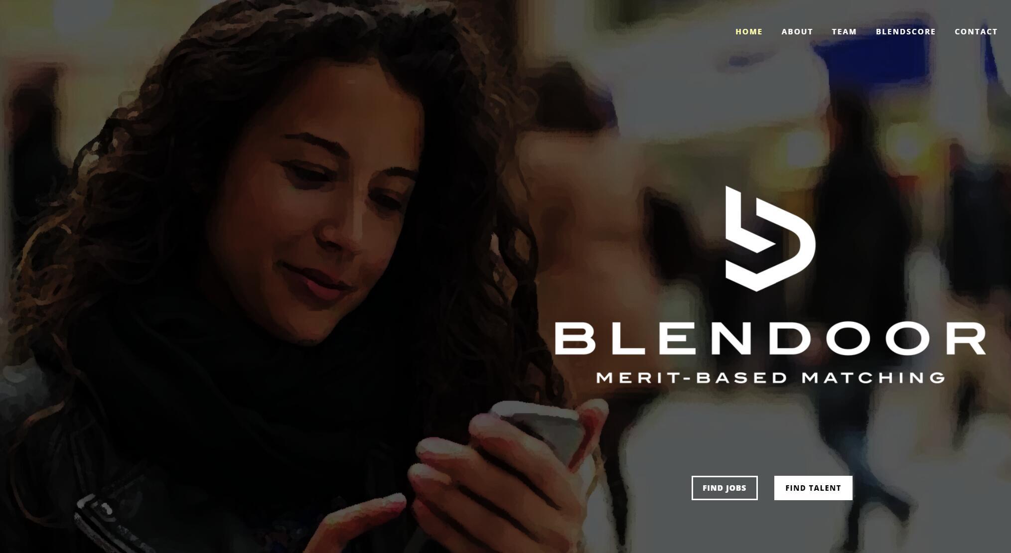 Blendoor 一家新的招聘与人员分析软件减少招聘的偏见,入选SAP.IO 孵化器