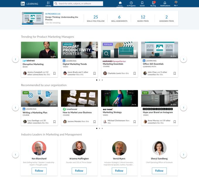 LinkedIn成为一个严肃的开放式学习体验平台,非常值得关注!