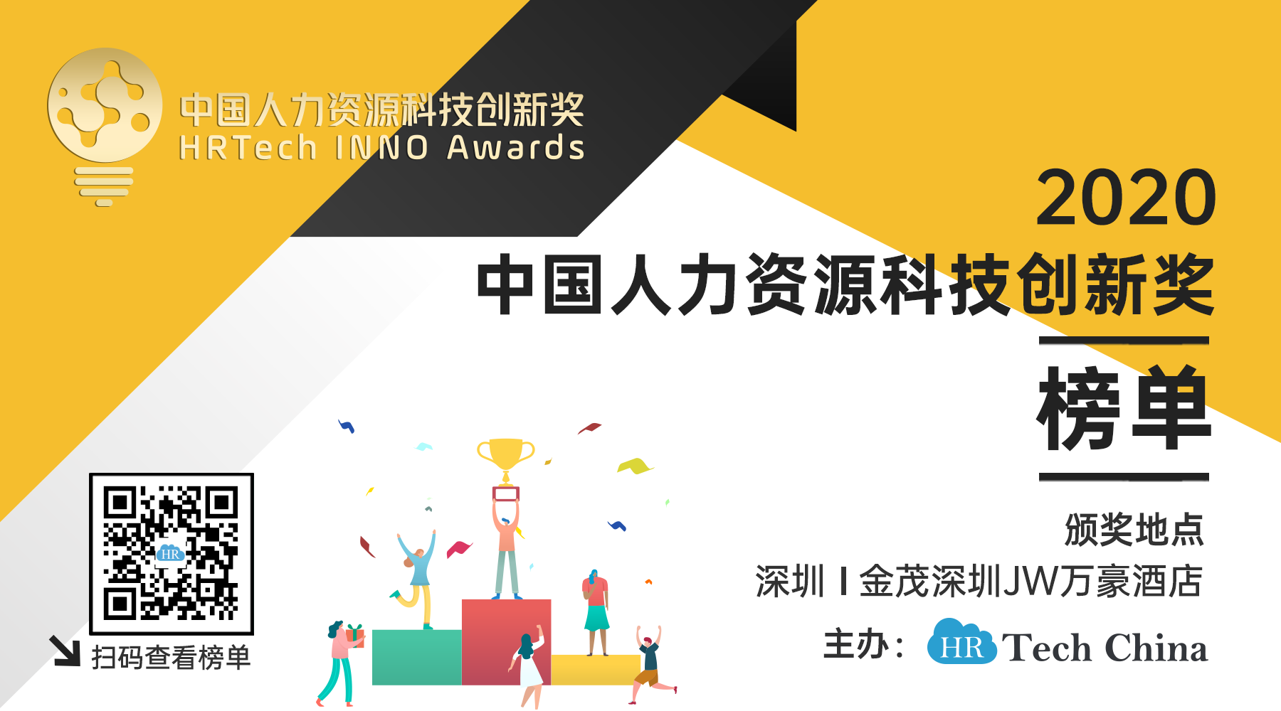 2020中国人力资源科技创新奖榜单揭晓,祝贺!